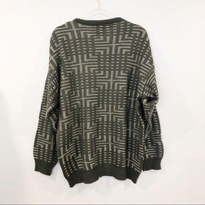 Vintage Sweaters - Vintage Grandpa / Dad Sweater • L